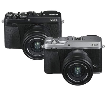 Fujifilm XE3 Kit 15-45mm F/3.5-5.6 Silver