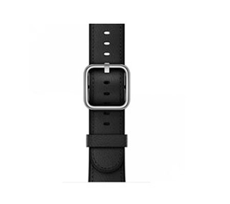 ::: USED ::: Apple Watch Classic Buckle Leather 38mm (Black) (Mint)