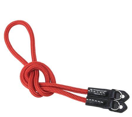 Artisan & Artist ACAM-301N Silk Cord Strap Red