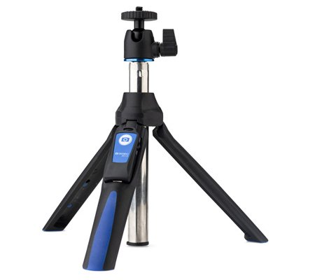 Benro MK10 Mini Tripod and Selfie Stick Blue