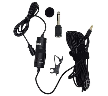BOYA BY-M1 Omni Directional Lavalier Microphone