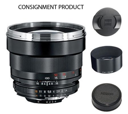 ::: USED ::: Carl Zeiss For Nikon 85mm F/1.4 ZF.2 T* (Excellent-015) CONSIGNMENT