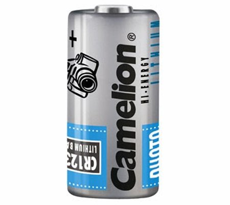 Camelion CR123A 3V Lithium-Ion Battery