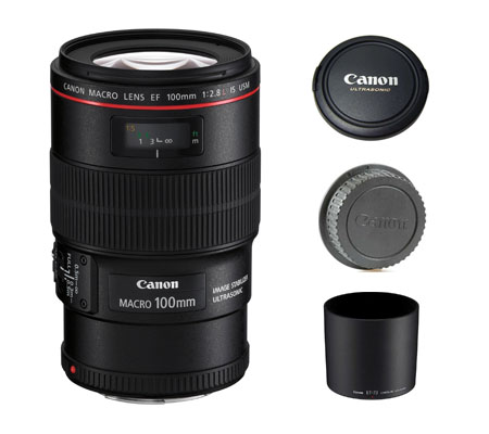 ::: USED ::: Canon EF 100mm F/2.8L Macro IS USM (Excellent To Mint-988)