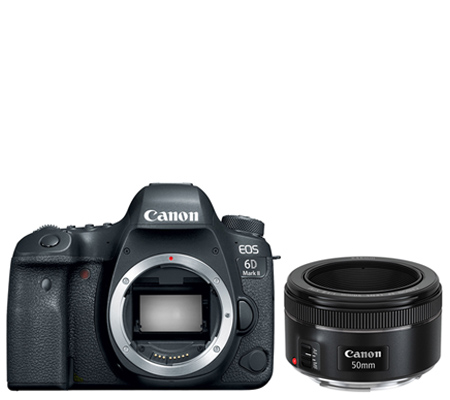 Canon EOS 6D Mark II Body Free Lens EF 50mm F1.8*