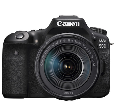 Canon EOS 90D kit EF-S 18-135mm f/3.5-5.6 IS USM Built-in WiFi