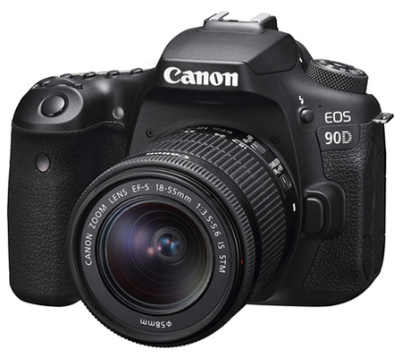 Canon EOS 90D kit EF-S 18-55mm f/3.5-5.6 IS STM Built-in WiFi