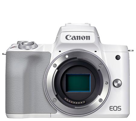 Canon EOS M50 Mark II Body Mirrorless Camera White