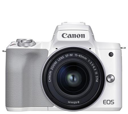 Canon EOS M50 Mark II Kit 15-45mm f/3.5-6.3 IS STM White