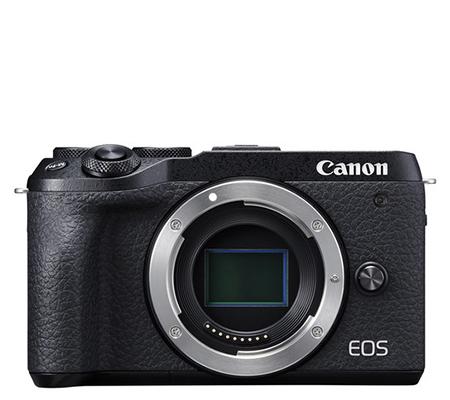 Canon EOS M6 Mark II Body Mirrorless Camera Black