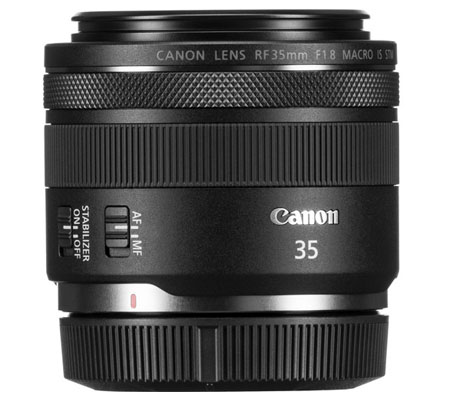 Canon RF 35mm f/1.8 IS Macro STM