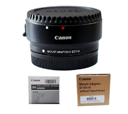 ::: USED ::: Canon Mount Adapter EF Lens to EOS M Camera (Excellent-748)