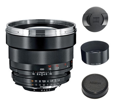 ::: USED ::: Carl Zeiss For Nikon 85mm F/1.4 ZF.2 T* (Excellent-015)