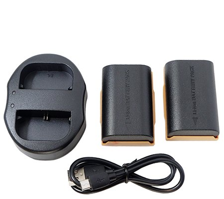 Casell Battery LP-E6N + Dual Charger for Canon