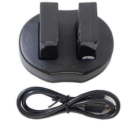 Casell Battery LP-E17 + Dual Charger for Canon EOS 760D/ M3/ M5/ M6/ 200D/ 77D/ 800D