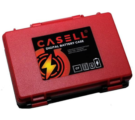 Casell Camera Battery and Memory Case