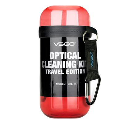 VSGO Camera Cleaning Kit Travel Edition (DKL-15) Red