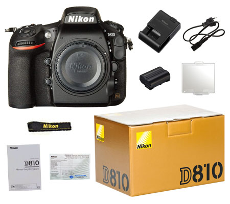 ::: USED ::: Nikon D810 Body (Excellent To Mint-165)