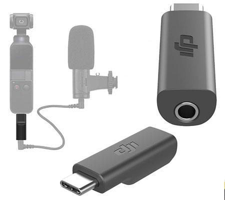 DJI Osmo Pocket USB-C to 3.5mm Mic Adapter