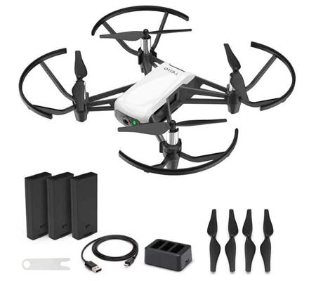 DJI Ryze Tello Quadcopter Boost Combo Drone