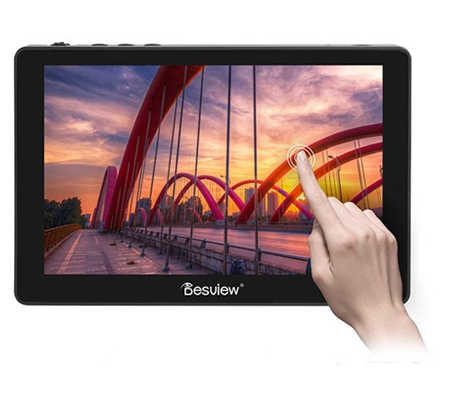 Desview R7 Plus Field 7Inch 1000nit Touch Screen Monitor 1920x1200 4K HDMI