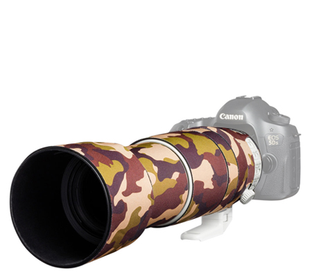 Easy Cover Lens Oak For Canon EF 100-400mm F/4.5-5.6L IS II USM V2 Brown Camouflage