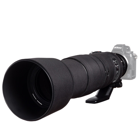 Easy Cover Lens Oak For Nikon 200-500mm f/5.6 VR Black