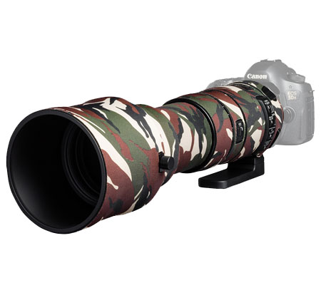 Easy Cover Lens Oak For Sigma 150-600mm f/5-6.3 DG OS HSM Sport Green Camouflage