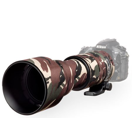 Easy Cover Lens Oak For Sigma 150-600mm f/5-6.3 DG OS HSM Contemporary Green Camouflage
