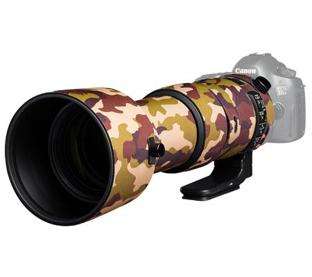 Easy Cover Lens Oak For Sigma 60-600mm f/4.5-6.3 DG OS HSM Brown Camouflage