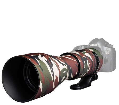 Easy Cover Lens Oak For Tamron 150-600mm f/5-6.3 Di VC USD G2 Green Camouflage