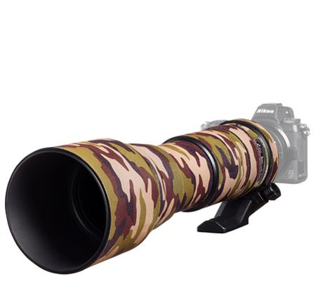 Easy Cover Lens Oak For Tamron 150-600mm f/5-6.3 Di VC USD Model AO11 Brown Camouflage