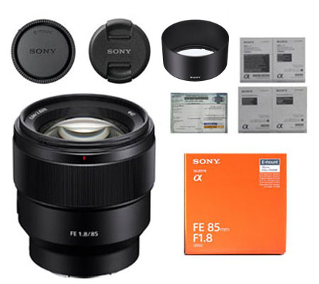 ::: USED ::: Sony FE 85mm F/1.8 (Mint-710)