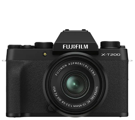 Fujifilm X-T200 kit XC15-45mm f/3.5-5.6 OIS PZ Black