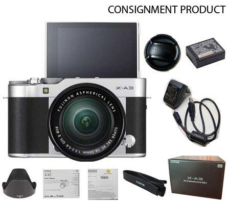 :::USED:::FujiFilm XA3 kit 16-50mm Silver (Exmint) Kode 107/665 Consignment