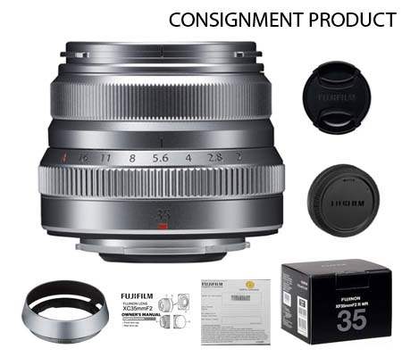 :::USED:::Fujifilm XF35mm f/2 R WR Silver (Exmint) Kode 859 Consignment