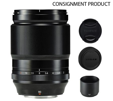 :::USED::: Fujifilm XF 90mm f/2 R LM WR (Excellent-618) CONSIGNMENT