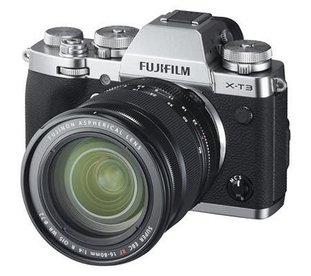 Fujifilm X-T3 Kit 16-80mm f/4 R OIS WR Silver