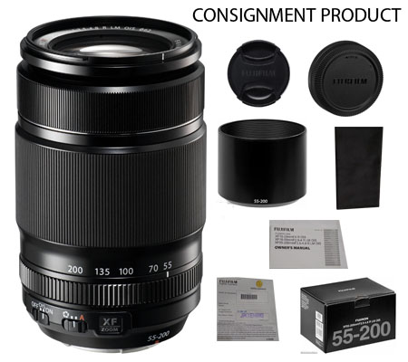 :::USED:::Fujifilm XF55-200mm f/3.5-4.8 R LM OIS (Ex-Mint) Kode 800 Consignment