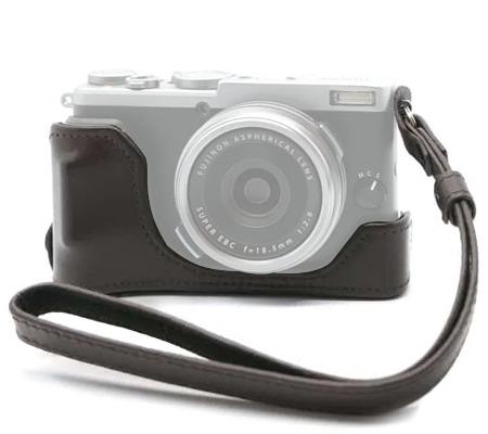 Fujifilm BLC-X70 Bottom Leather Case Brown for Fujifilm X70