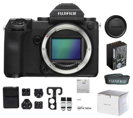 :::USED::: Fujifilm GFX50S Body Barang Hadiah - 100% Brand New Kode 063