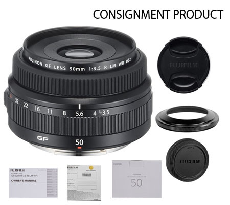 :::USED:::Fujifilm GF 50mm f/3.5 R LM WR Lens (MINT # 308) Consignment