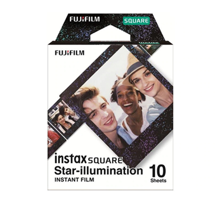 Fujifilm Instax Star Illumination Film Square Paper