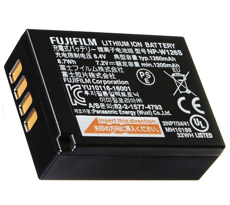 Fujifilm NP-W126S Battery for XA/XE/XT10/XT20/XT30/XT100/XT200/XPro/XT2/XT3