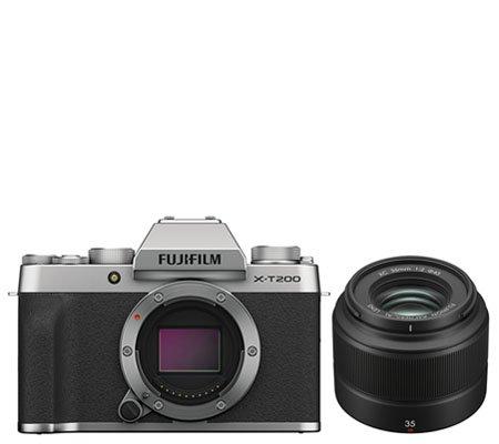 Fujifilm X-T200 Kit XC 35mm f/2 Silver