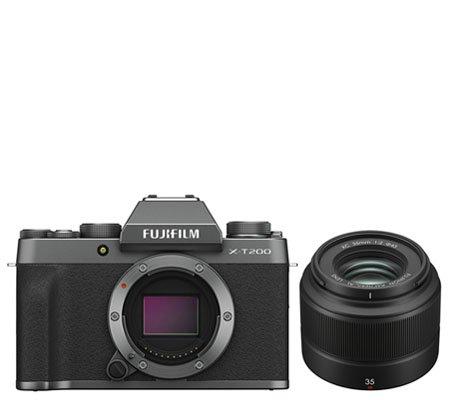 Fujifilm X-T200 Kit XC 35mm f/2 Dark Silver
