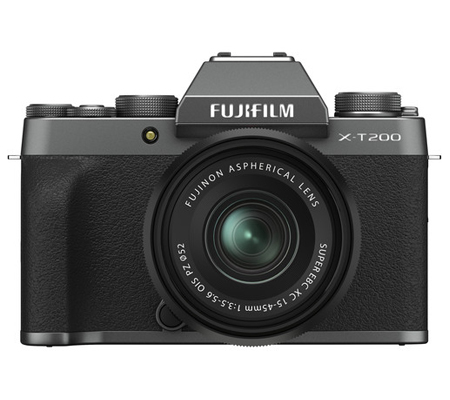 Fujifilm XT200 kit XC15-45mm f/3.5-5.6 OIS PZ Dark Silver