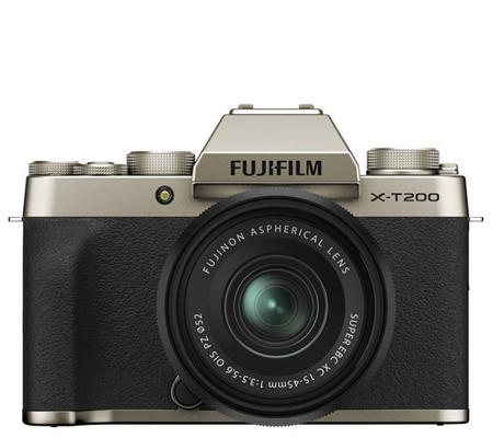 Fujifilm XT200 kit XC15-45mm f/3.5-5.6 OIS PZ Champagne Gold