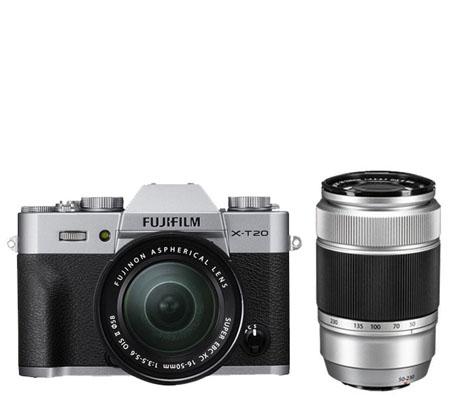 Fujifilm X-T20 kit XC16-50mm f/3.5-5.6 OIS II + XC50-230mm f/4.5-6.7 OIS Silver