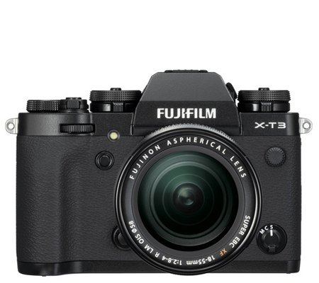 Fujifilm X-T3 Kit 18-55mm f/2.8-4 R LM OIS Black